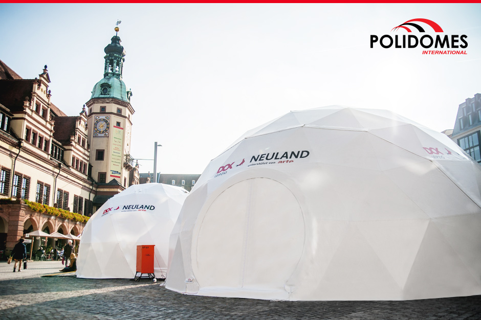 Polidomes festival dome tents